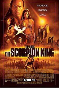 The Scorpion King -- poster